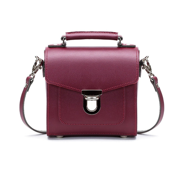 Oxblood Leather Sugarcube - Sugarcube - Zatchels