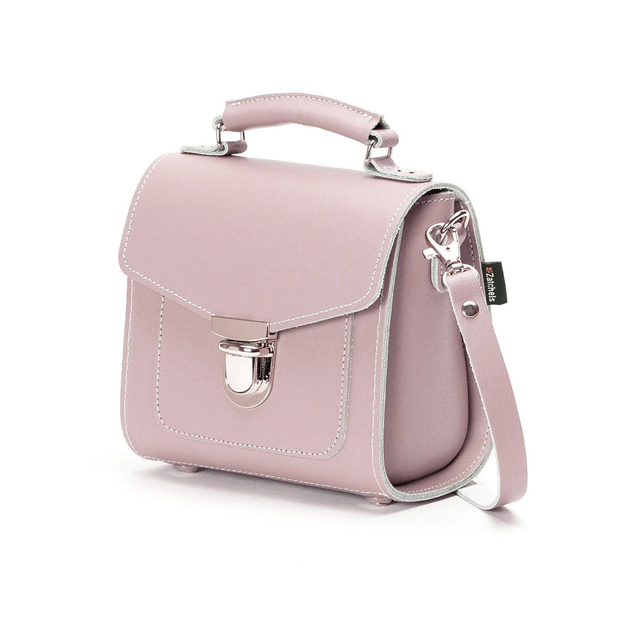 Rose Quartz Leather Sugarcube - Sugarcube - Zatchels