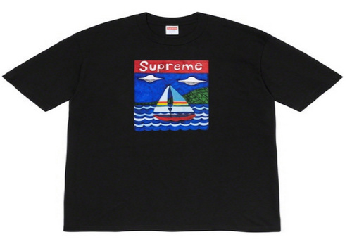 SUPREME SAILBOAT TEE (2020S/S)