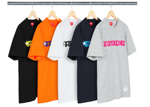 SUPREME STAR LOGO SS TOP (2020S/S)