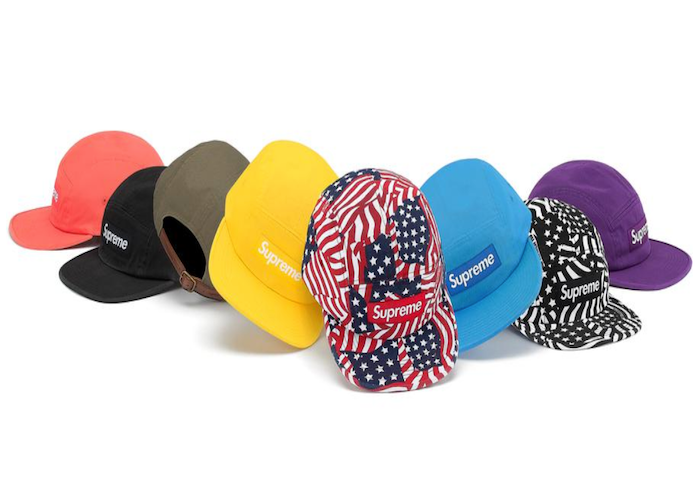 SUPREME WASHED CHINO TWILL CAMP CAP (2020S/S)
