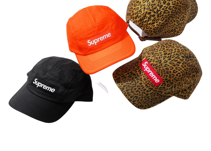 SUPREME BARBOUR WAXED COTTON CAMP CAP (2020S/S)