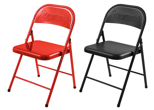 SUPREME METAL FOLDING CHAIR (2020FW)
