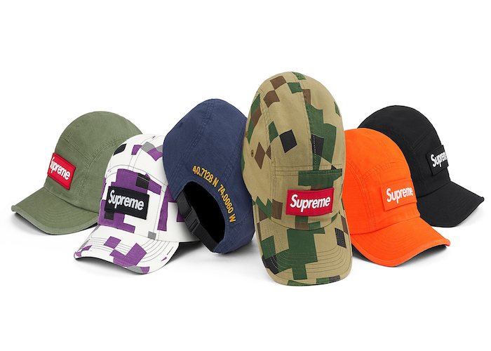 SUPREME MILITARY CAMP CAP (2020FW)