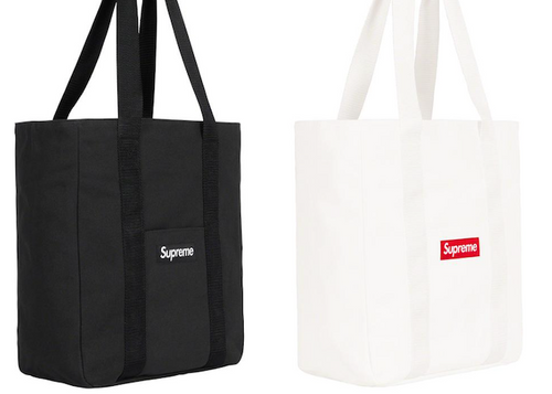 SUPREME CANVAS TOTE (2020FW)