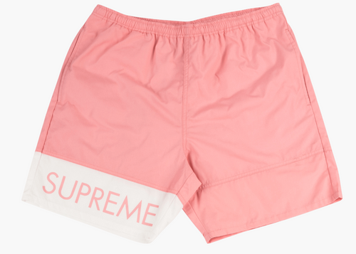 SUPREME BANNER WATER SHORT