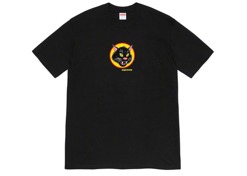 SUPREME BLACK CAT TEE (2020S/S)