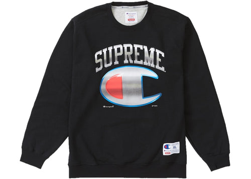 SUPREME CHAMPION CHROME CREWNECK