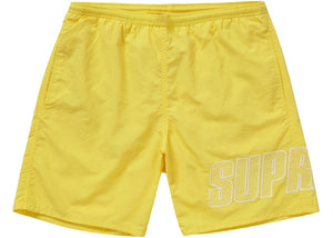 SUPREME LOGO APPLIQUE WATER SHORT