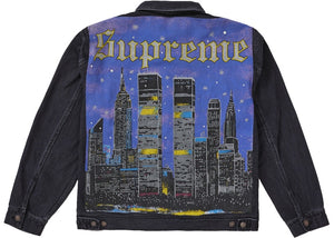 SUPREME NEW YORK PAINTED JACKET