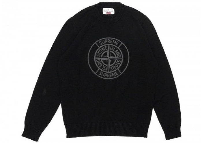 SUPREME STONE ISLAND COMPASS SWEATER