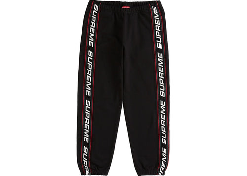 SUPREME TEXT RIB SWEATPANT