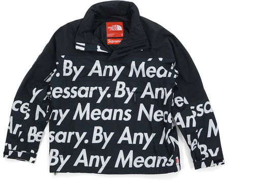SUPREME BY ANY MEANS TNF PULLOVER