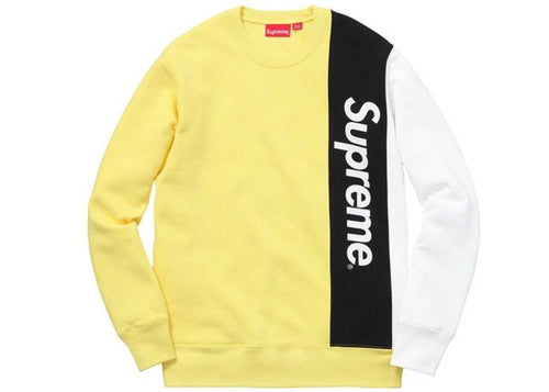 SUPREME PANELLED CREWNECK