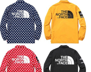 SUPREME 15SS TNF PACKABLE COACHES JACKET
