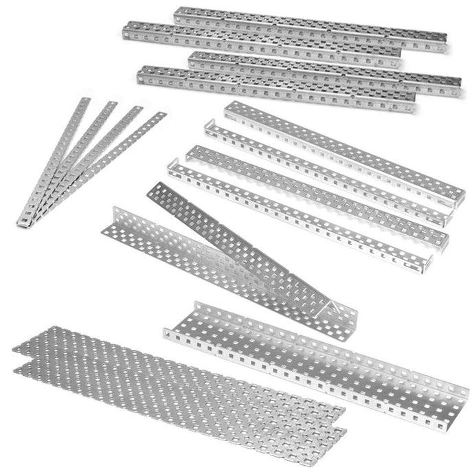 Aluminium Parts - Kits, Angles, C-Channels, Plates, Bars