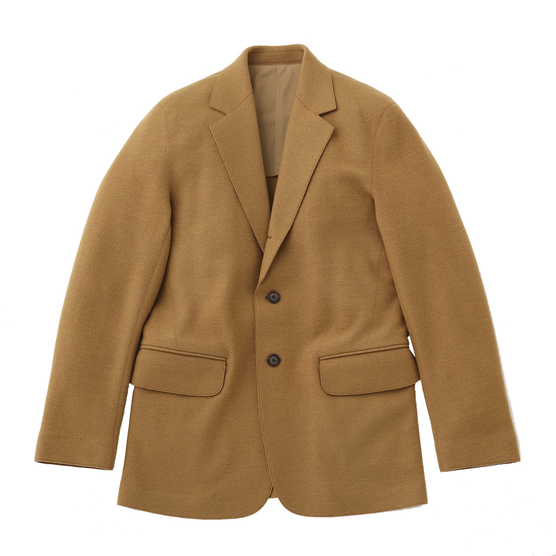 TPS_Virgin Wool Jacket<br>Col.Camel