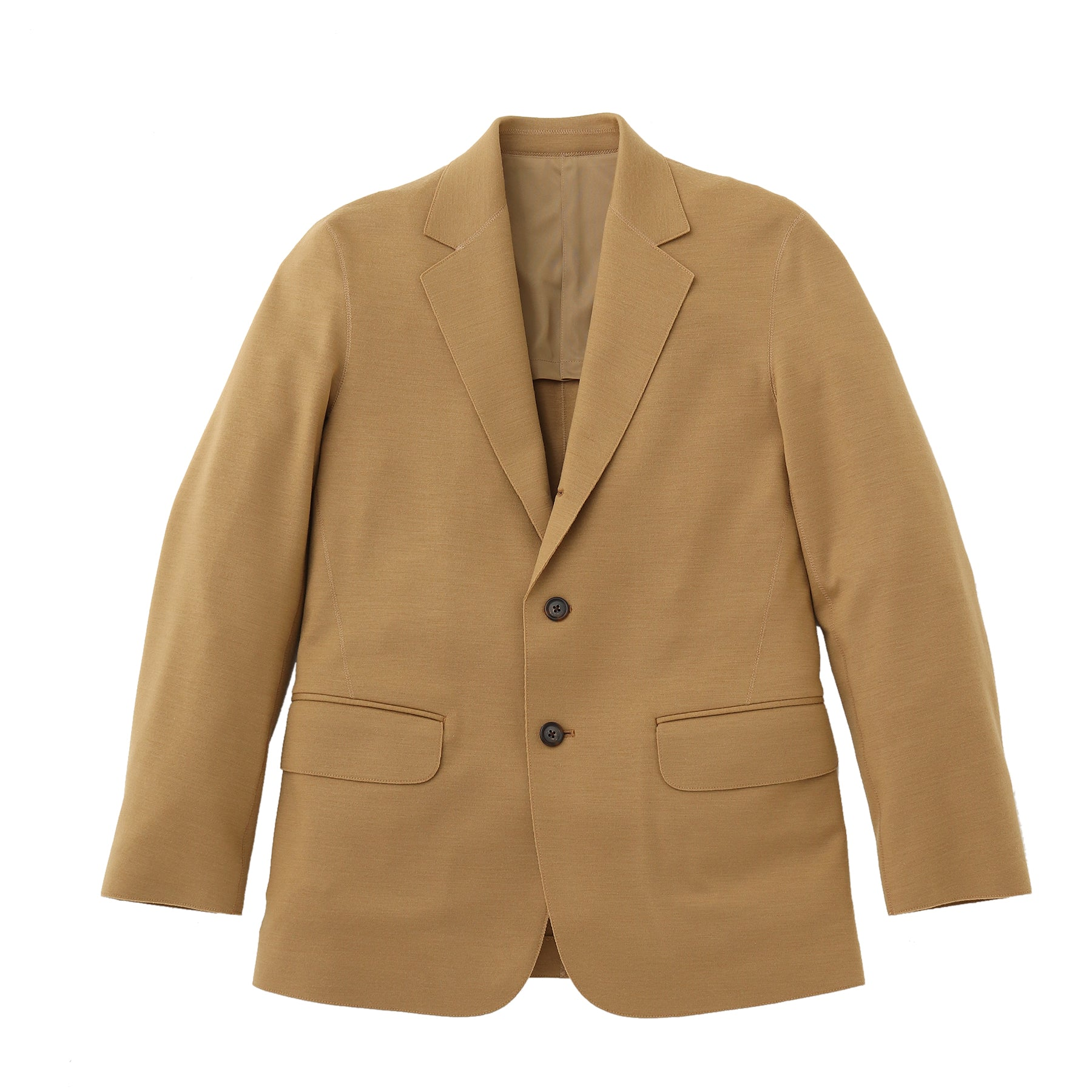 TPS_Middle Smooth Jacket<br>Col.Camel
