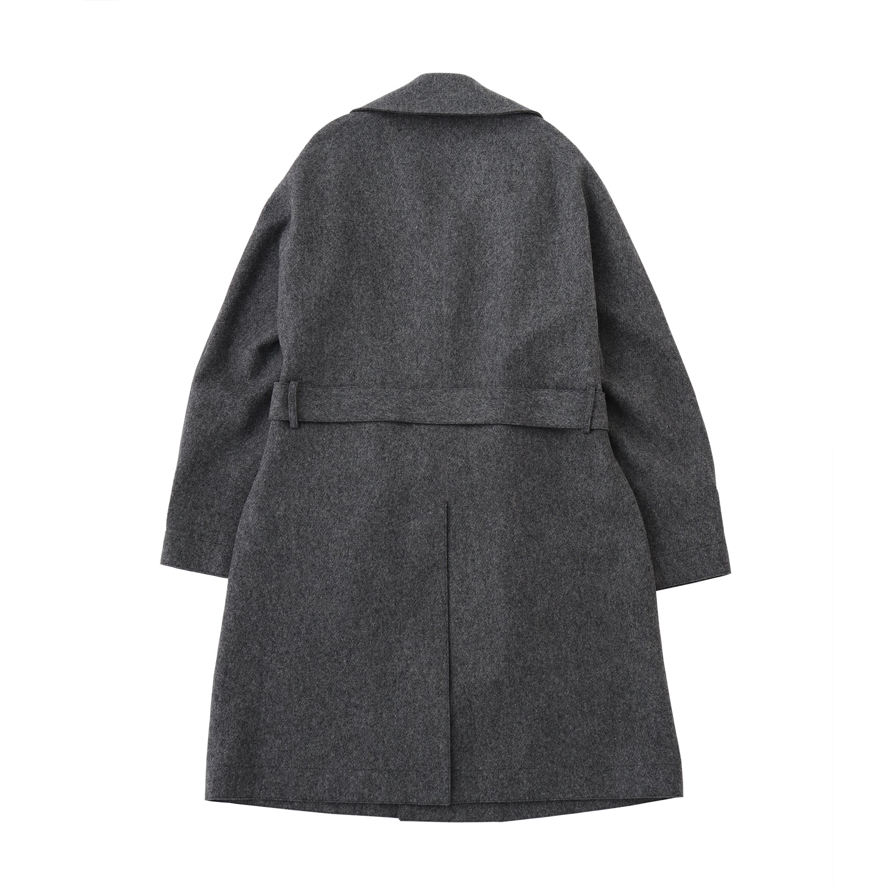 TPS_Single Belted Coat<br>Gray
