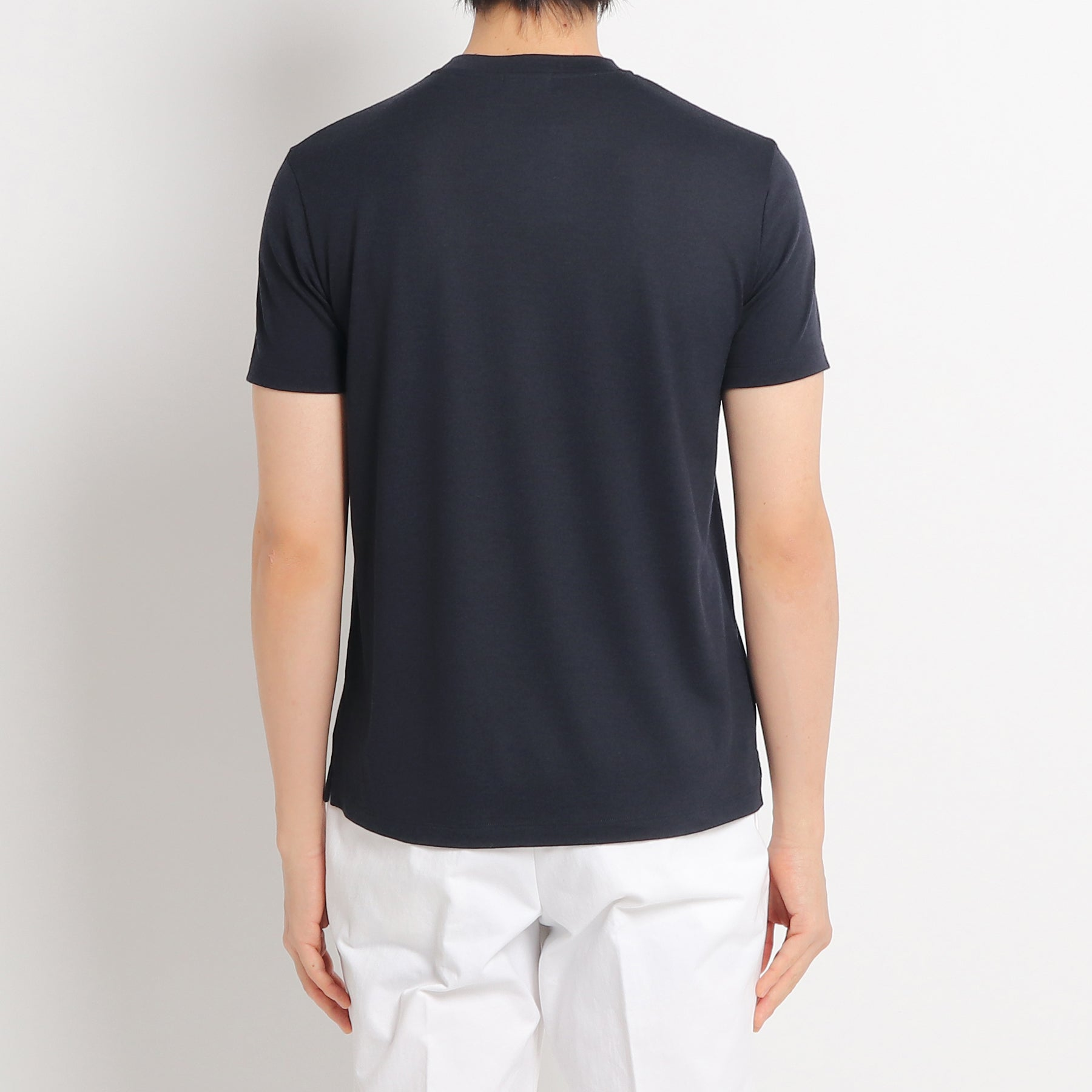 EFT Wool T-shirt Col. Navy