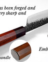 3 Layers Handmade Steel Forged Chef Knives - From £30.97 + FREE Worldwide Delivery