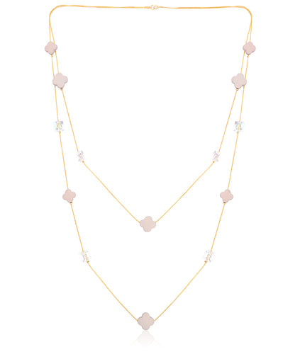 Stella Flowers Necklace