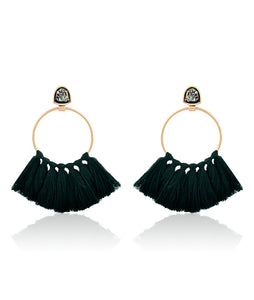 Tassel in a Row Earring