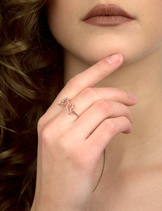 LITTLE ANGEL WINGS RING