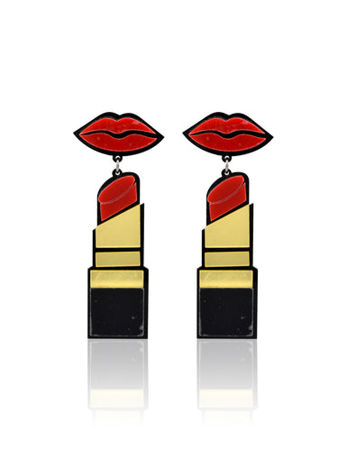 KISS MY LIPS EARRING
