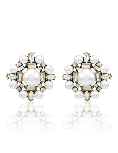 HEXAPEARL EARRINGS