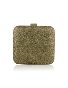 GOLD RUSH SEQUIN CLUTCH BAG