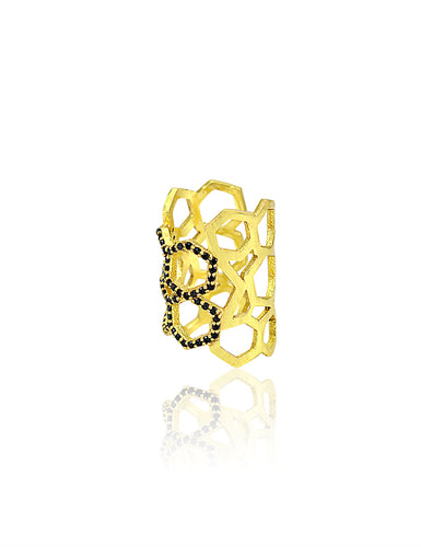 QUASSIA BLACK RING