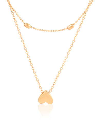 Heartista Chain Necklace Gold