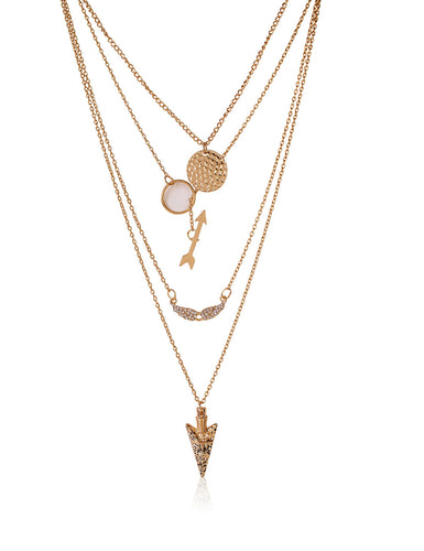 LAYER LOVER GOLD CHAIN NECKLACE