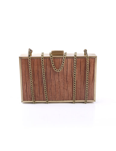 BROWNILICIOUS CLUTCH BAG