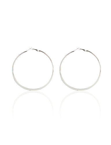 ALLIE HOOP EARRINGS - MEDIUM