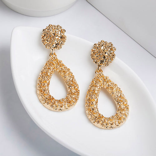 Fire Drop Earrings