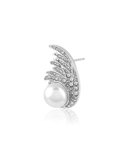 Pearl Wing Earrings