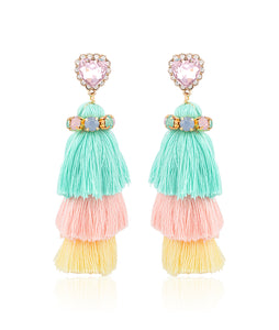 Bunny Love Tassel Earrings