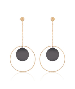 Circulo Sun and Moon Earrings