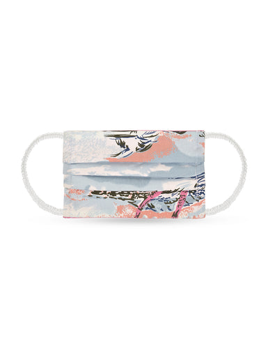 Reusable Face Mask - Beach Print Mask 1 Pc