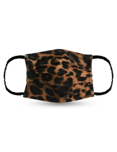 Reusable Face Mask - Leopard Print Mask 1 Pc