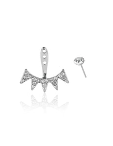 spike jacket earring