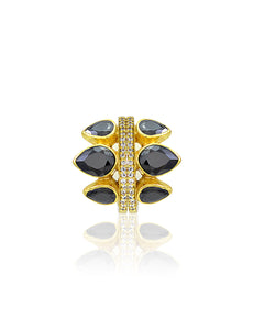 KIANA BLACK RING