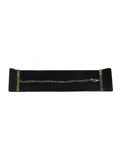 AUDREY VELVET CHOKER NECKLACE