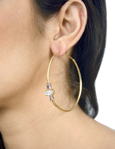CALUMBA EARRING - ROSE GOLD