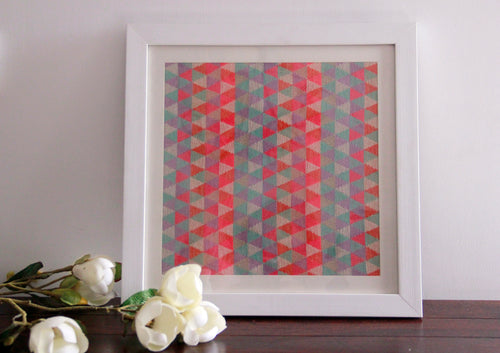 Abstract Wall Art Multicolor