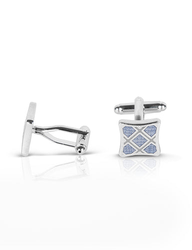 DAPPER CHECKS CUFFLINKS