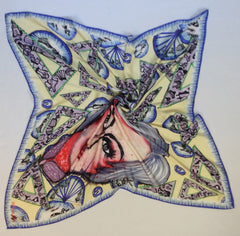 Fashion Obsession Satin Silk Scarf