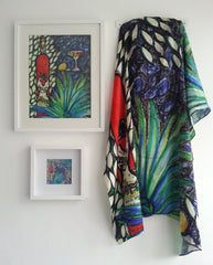 Tequila Agave Satin Silk Scarf